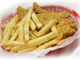 Chicken Strips with Fries